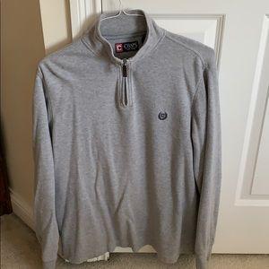 Men's Chaps quarter zip pullover